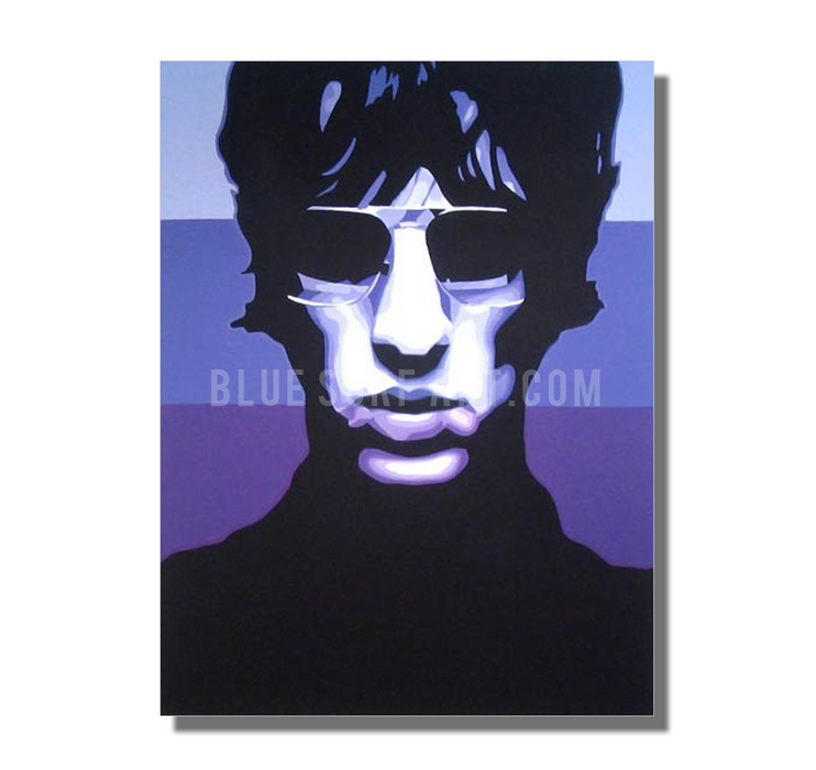 Keys to the World - Richard Ashcroft Oil Painting on Canvas by Blue Surf Art 2