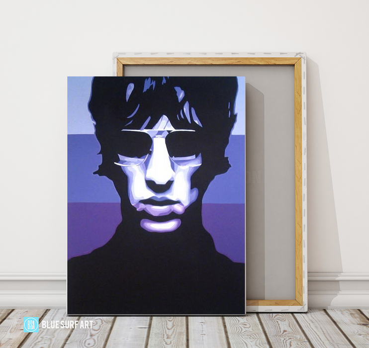 Keys to the World - Richard Ashcroft Oil Painting on Canvas by Blue Surf Art 3