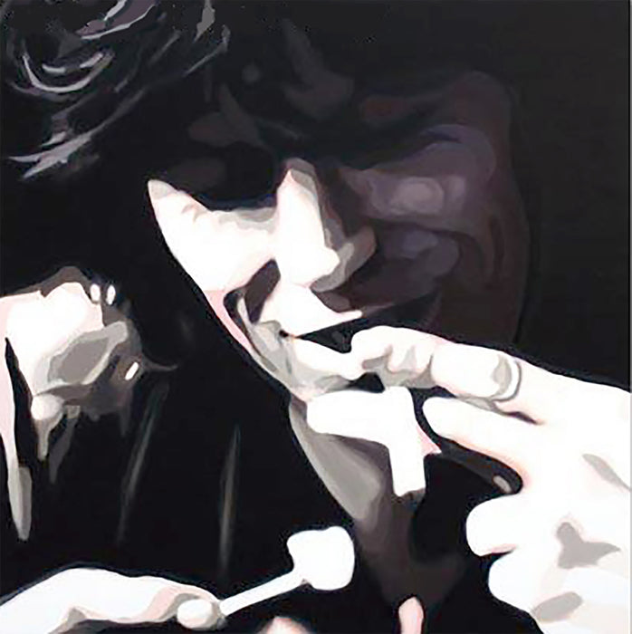 Keith Richards Canvas Art Oil Painting