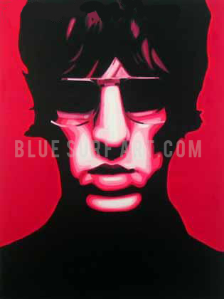 United Nations of Sound - Richard Ashcroft oil painting on canvas by blue surf art