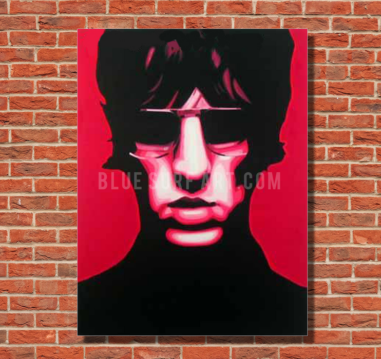 United Nations of Sound - Richard Ashcroft oil painting on canvas by blue surf art  1