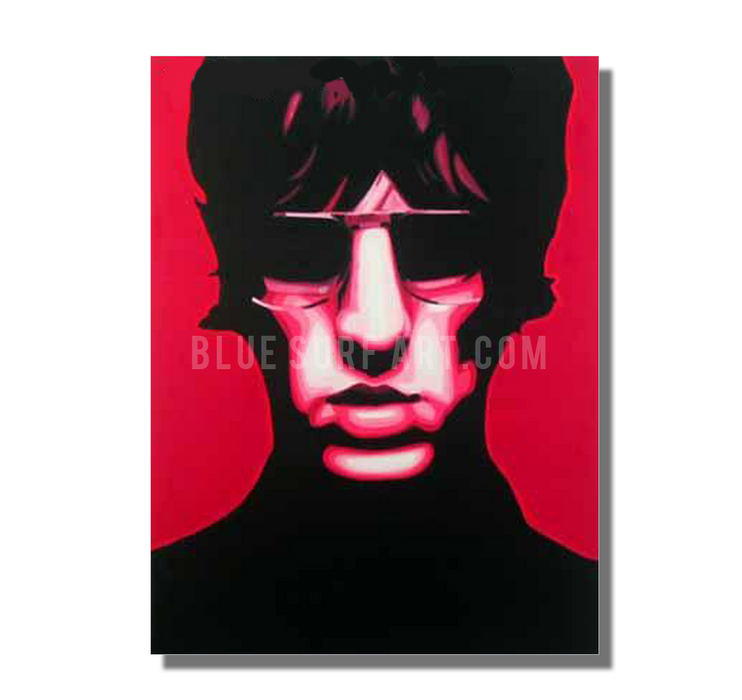 United Nations of Sound - Richard Ashcroft oil painting on canvas by blue surf art  2