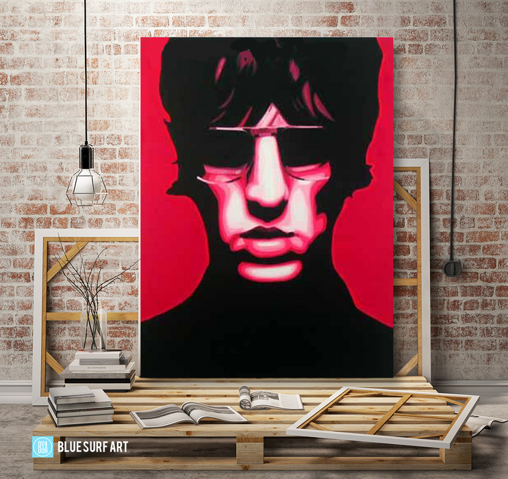 United Nations of Sound - Richard Ashcroft oil painting on canvas by blue surf art  3