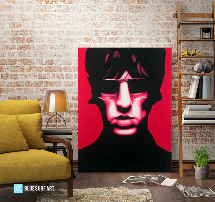 United Nations of Sound - Richard Ashcroft oil painting on canvas by blue surf art  4
