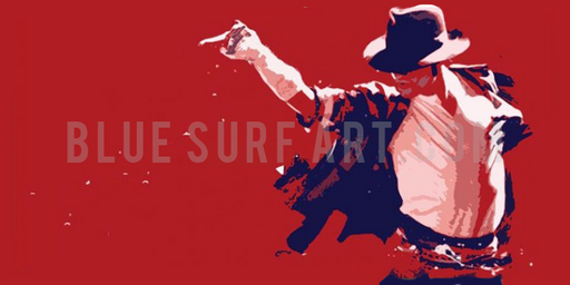 This is it - Michael Jackson oil painting on canvas by Blue Surf art