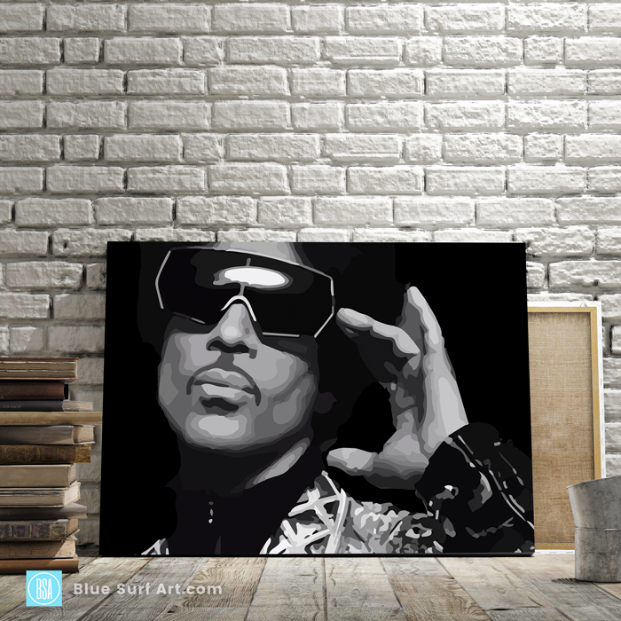 Call My Name - Prince music oil painting on canvas 3
