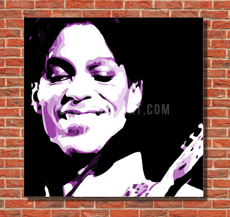 Purple Rain oil painting on canvas by Blue Surf Art