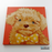 Fluffy Puppy Canvas Art Painting, Animal Pop Art, Room Decor, Wall Art - showcae