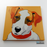 Cute Puppy Canvas Art Painting, Animal Pop Art, Room Decor, Wall Art - showcase