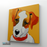 Cute Puppy Canvas Art Painting, Animal Pop Art, Room Decor, Wall Art - right  side