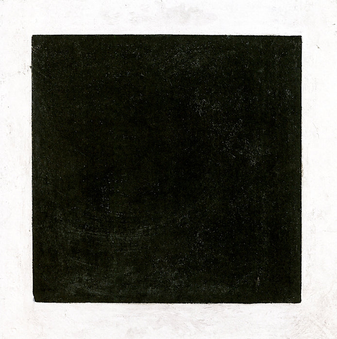 Black Square by Kazimir Malevich Reproduction Painting