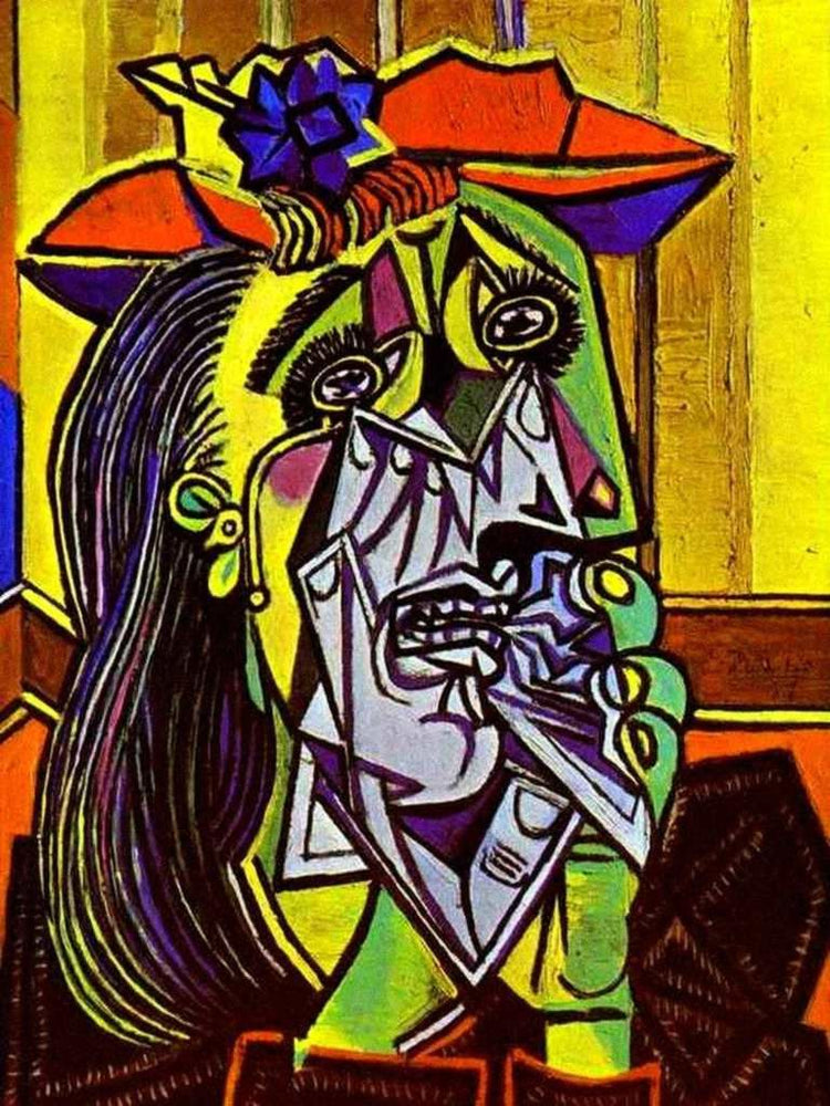 The Weeping Woman by Pablo Picasso Reproduction Painting