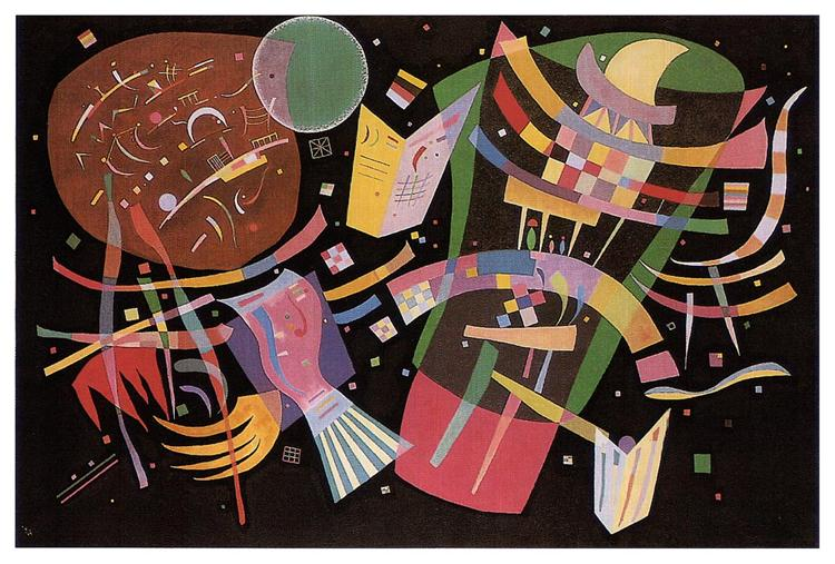 Composition X by Wassily Kandinsky Wall Art, Home Decor, Reproduction