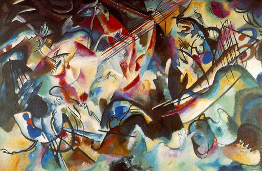 Composition VI by Wassily Kandinsky Wall Art, Home Decor, Reproduction