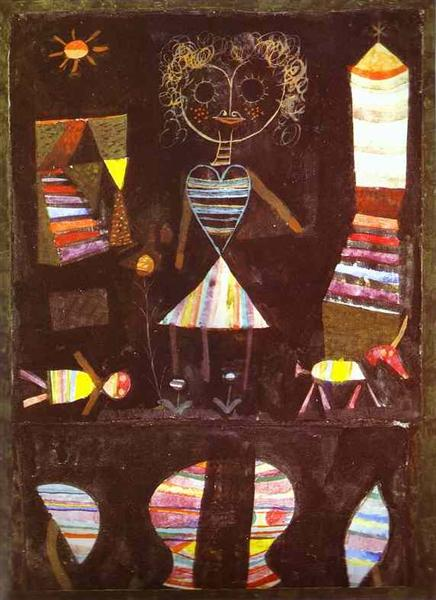 Puppet theater by Paul Klee