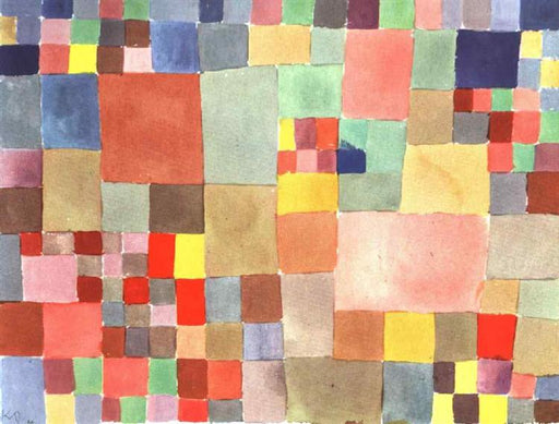 Flora on Sand by Paul Klee reproduction wall art oil painting on canvas