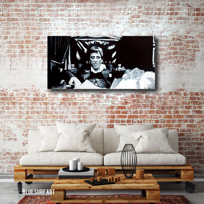 Scarface - Tony Montana Pop Art Paintin - - living room