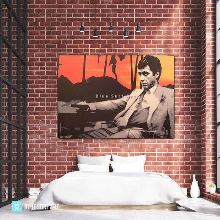 Scarface Sunset - Bed Room Showcase