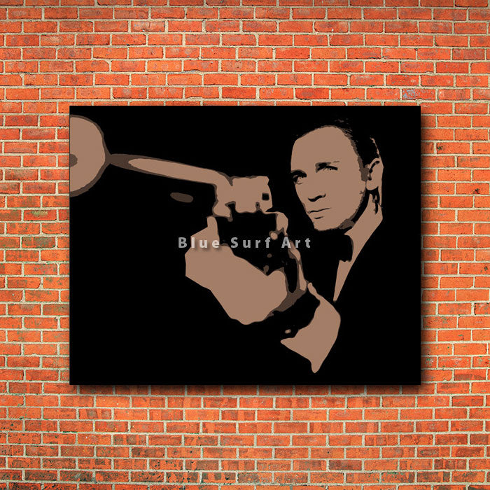 Secret Agent  - red bricks wall