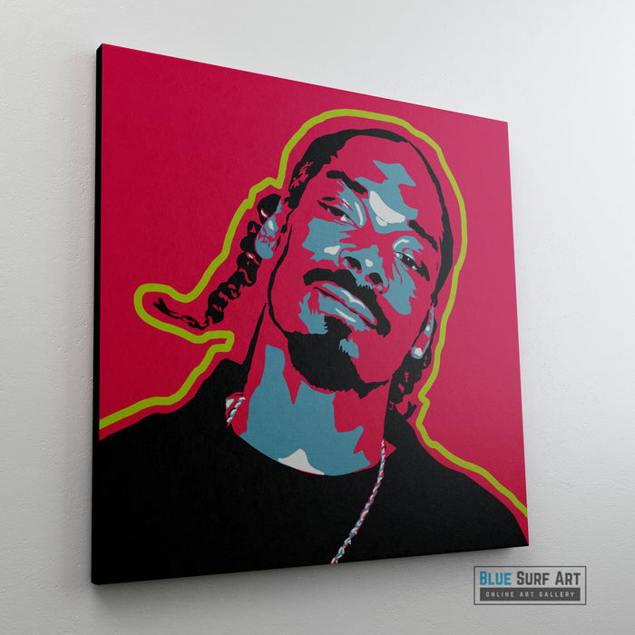 Snoop Dogg Canvas Art Oil Painting