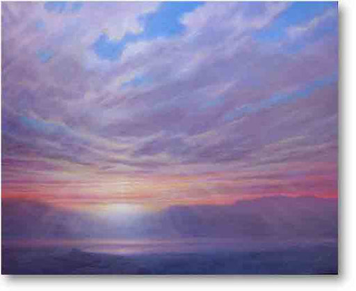 Sunrise After The Storm Painting by Derek Hare