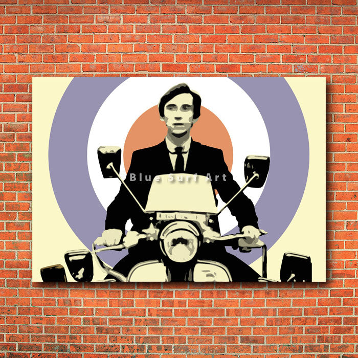 The Mods - red bricks wall