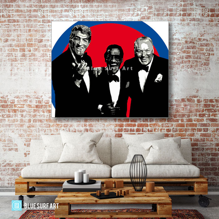 The rat pack - living room