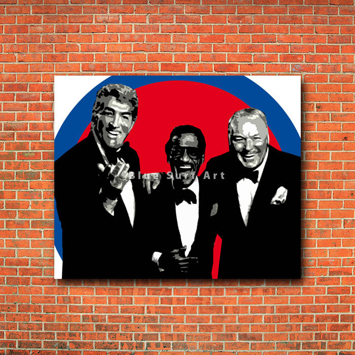 The rat pack - red brick wall