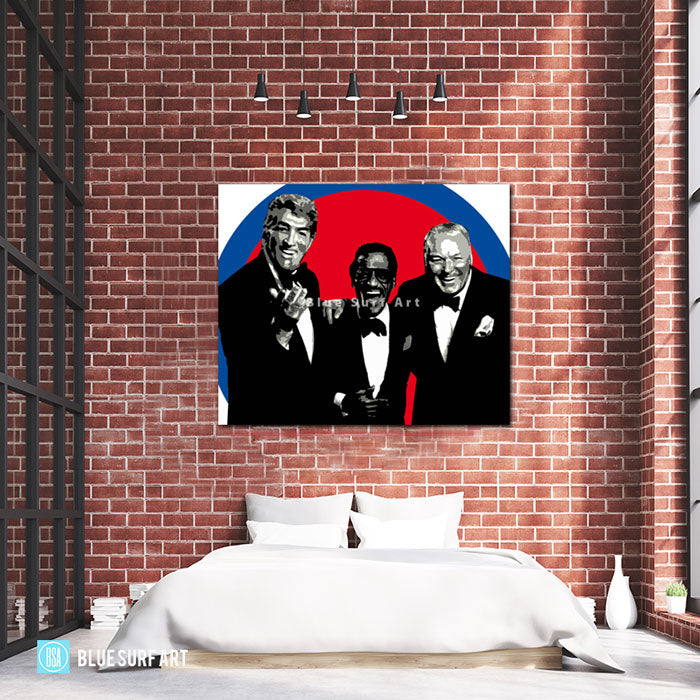The rat pack - Bed Room Showcase