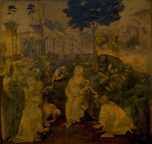 Adoration of the Magi (Leonardo)