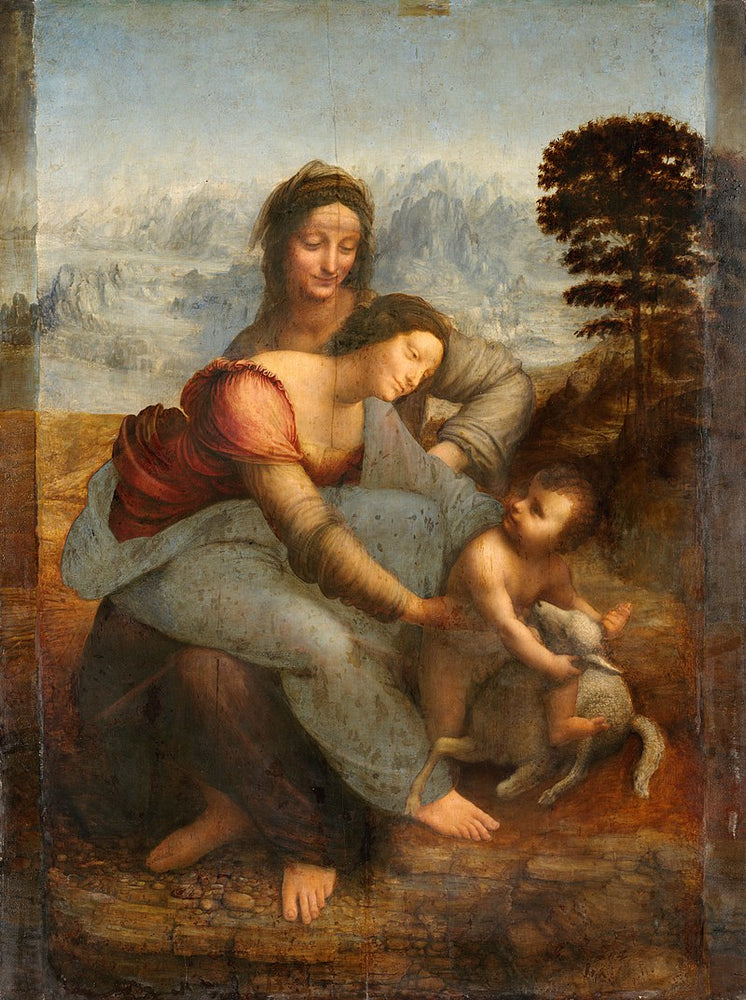 The Virgin and Child with Saint Anne (Leonardo)