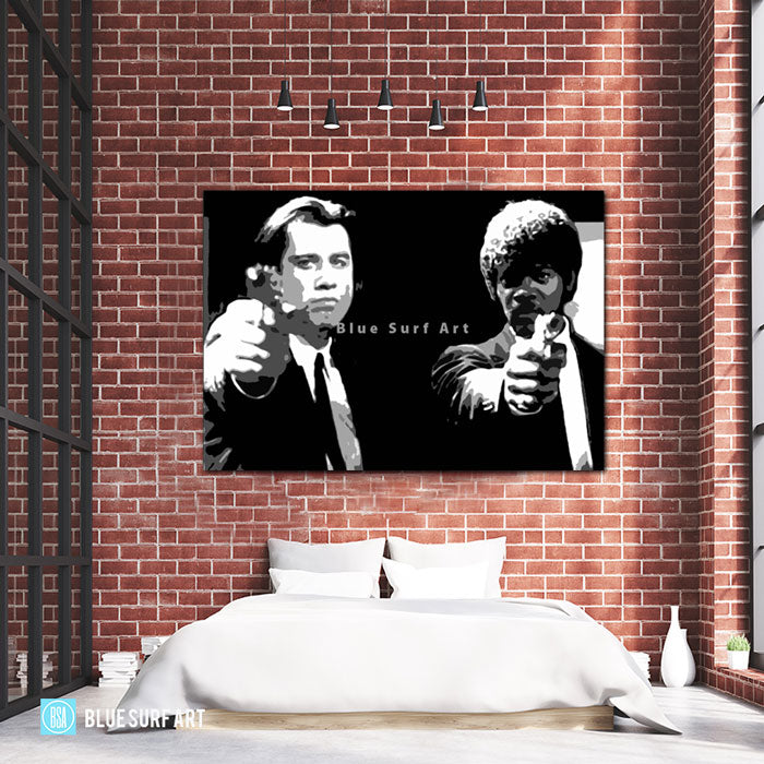 Vincent & Jules Black and White - Bed Room Showcase