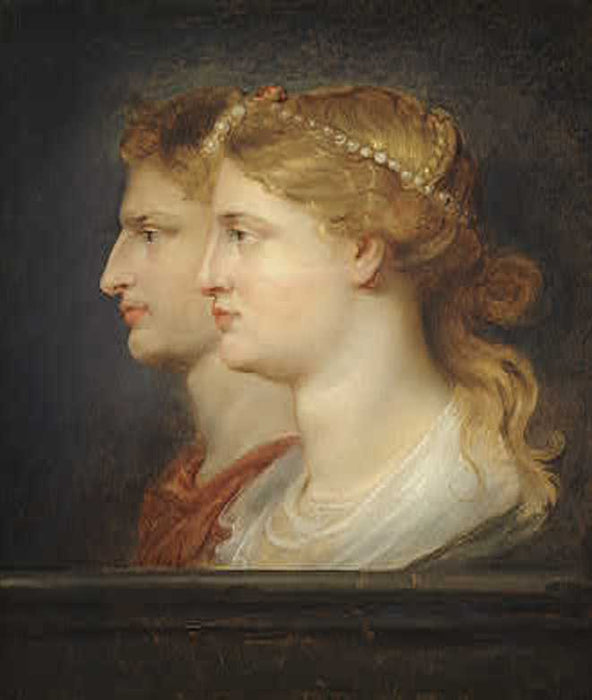 Agrippina and Germanicus by Peter Paul Rubens Reproduction Oil Painting on Canvas
