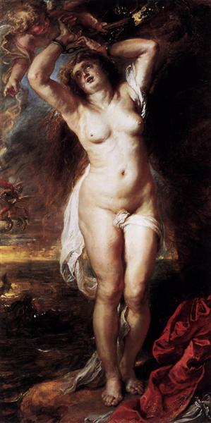 Andromeda by Peter Paul Rubens Reproduction Oil Painting on Canvas