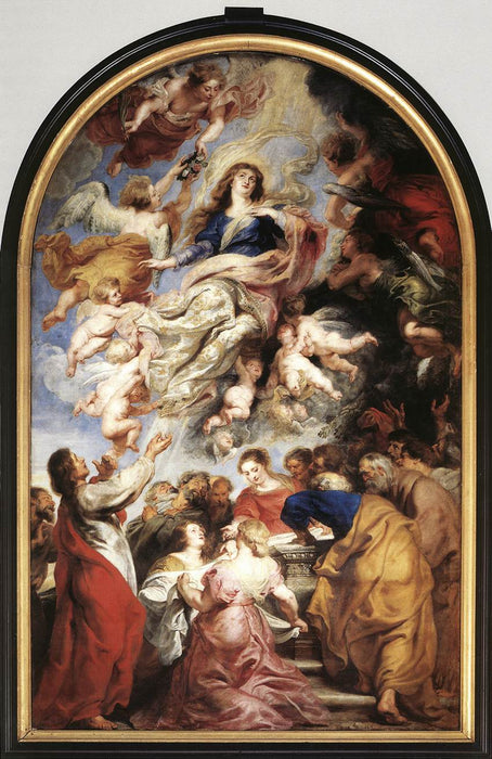 Assumption of the Virgin by Peter Paul Rubens Reproduction Oil Painting on Canvas