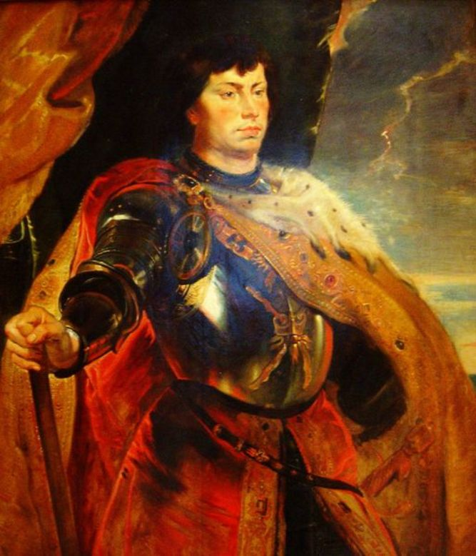 Charles the Bold, duke of Burgundy by Peter Paul Rubens Reproduction Oil Painting on Canvas