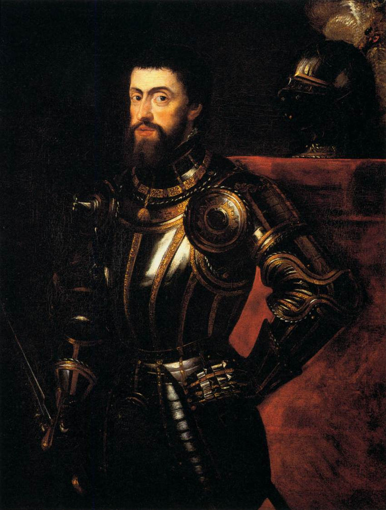 Charles V in Armour by Peter Paul Rubens Reproduction Oil Painting on Canvas