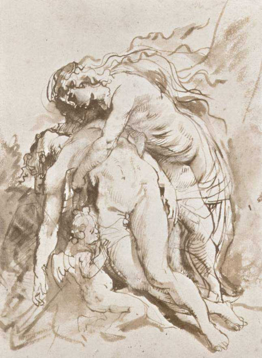 Death of Adonis by Peter Paul Rubens Reproduction Oil Painting on Canvas