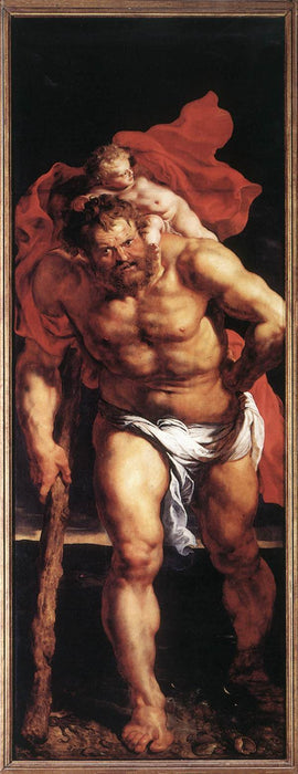 Descent from the Cross (outside left) by Peter Paul Rubens Reproduction Oil Painting on Canvas
