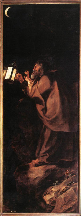 Descent from the Cross (outside right) by Peter Paul Rubens Reproduction Oil Painting on Canvas