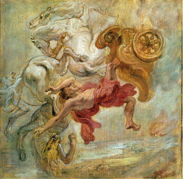 Fall of Phaeton by Peter Paul Rubens Reproduction Oil Painting on Canvas