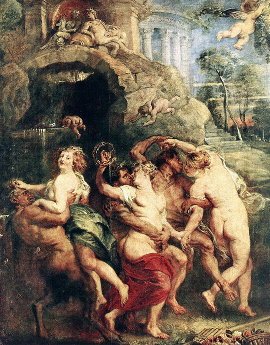 Feast of Venus by Peter Paul Rubens Reproduction Oil Painting on Canvas