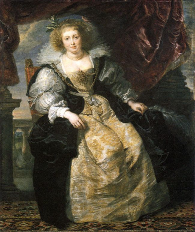 Helena Fourment by Peter Paul Rubens Reproduction Oil Painting on Canvas