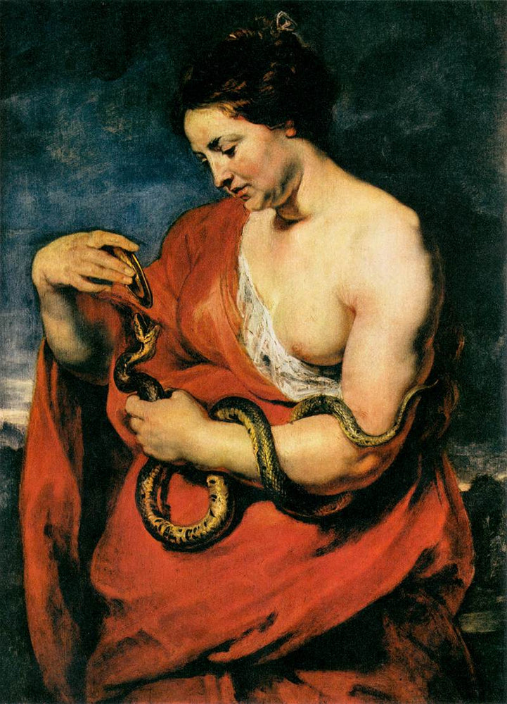 Hygeia, Goddess of Health by Peter Paul Rubens Reproduction Oil Painting on Canvas