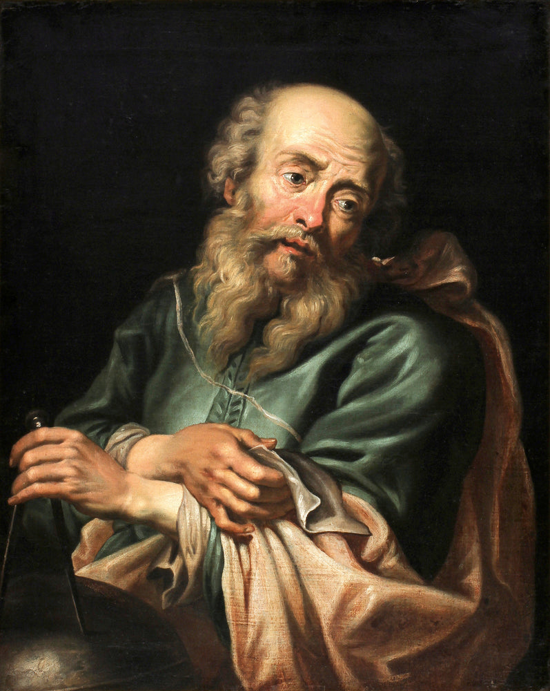 Galileo Galilei by Peter Paul Rubens Reproduction Oil Painting on Canvas