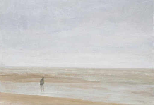 Sea and Rain by James Abbott McNeill Whistler Reproduction Painting by Blue Surf Art