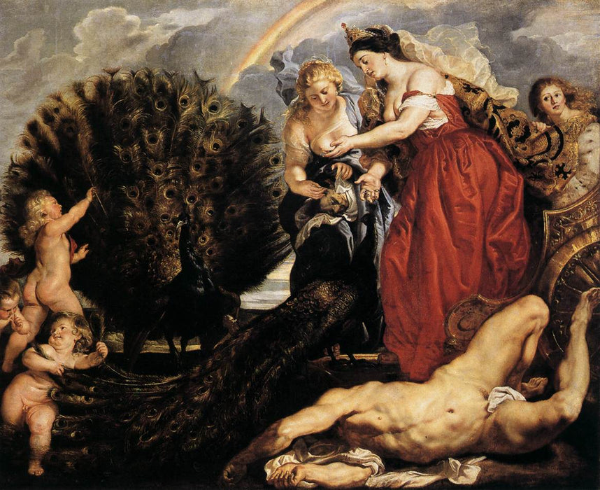 Juno and Argus by Peter Paul Rubens Reproduction Oil Painting on Canvas