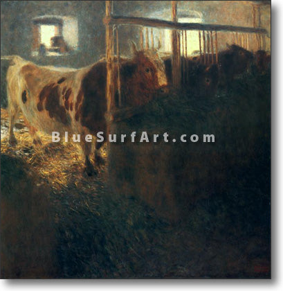 Cows in a Stall