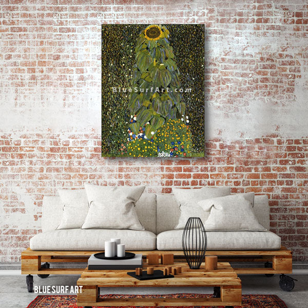 The Sunflower - living room