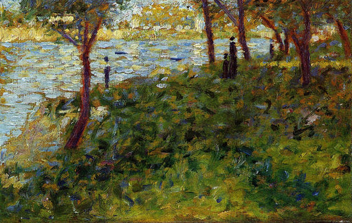 Landscape with Figure. Study for 'La Grande Jatte'
